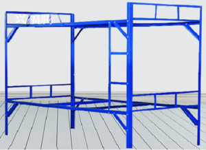 Angle iron bed